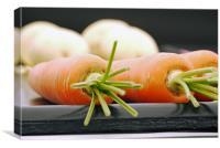 Carrots, Canvas Print