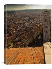 Florence Duomo Cathedral, Canvas Print