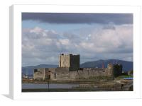 carrickfergus castle, Canvas Print