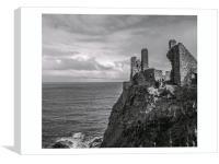 dunluce castle, Canvas Print