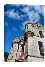 belfast castle corner view, Canvas Print