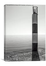 carnlough harbor, east antrim coast, Canvas Print