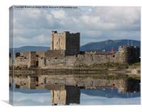 carrickfergus castle, Canvas Print