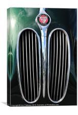 Bristol Cars, Canvas Print