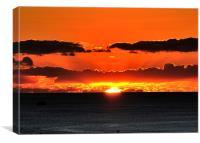 Hawaiian Sunset, Canvas Print