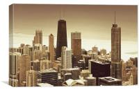 Chicago City, Canvas Print