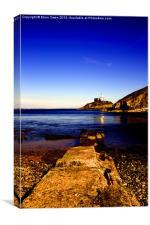 Mumbles Lighthouse I, Canvas Print