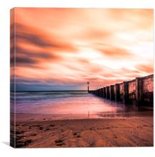 Bournemouth Beach, Dorset, Canvas Print