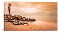 Isle of Wight View., Canvas Print