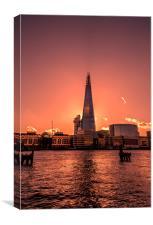 The Shard, London, Canvas Print