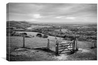 Moody Weald, Canvas Print