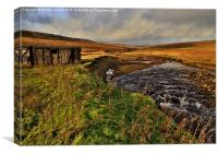 Durham Dales Stream, Canvas Print