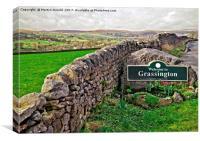 Grassington, Yorkshire Dales National Park, Canvas Print