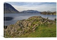 Crummock Water Lake District, Canvas Print