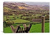 Lake District Landscape, Canvas Print