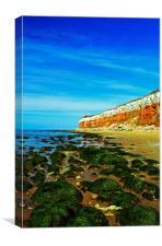 Hunstanton Cliffs, Canvas Print