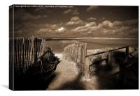 Holkham - to walk or to rest?, Canvas Print
