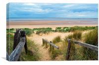 Brancaster Beach - Norfolk, Canvas Print