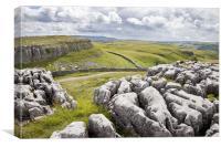 Yorkshire Dales Limestone, Canvas Print