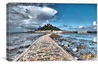 Saint Michaels Mount, Cornwall, Canvas Print