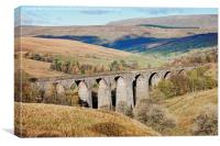 Dent Viaduct, Canvas Print