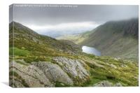 Goat's Water Tarn, Coniston Old Man, Canvas Print