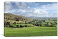 Yorkshire Dales Landscape, Canvas Print