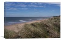 Northumberland Coast , Canvas Print