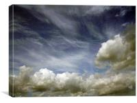 Clouds, Canvas Print