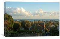 Views Over Hythe . Kent, Canvas Print