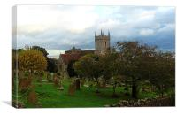 St. Leonards Church- Hythe, Canvas Print