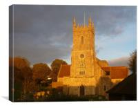 Saint Leonard's Church Hythe - Kent , Canvas Print