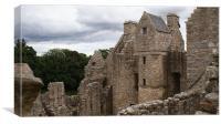 Tolquhon Castle, Canvas Print