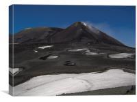 Mount Etna - Sicily, Canvas Print