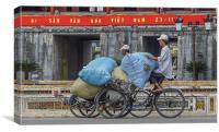 Vietnamese Transport, Canvas Print