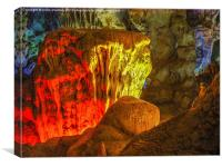 Ha Noi Caves, Canvas Print