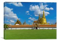 Phra Borom Maha Ratcha Wang, Canvas Print