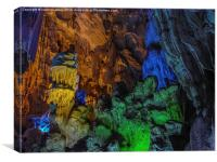 Ha Noi Caves in Vietnam, Canvas Print