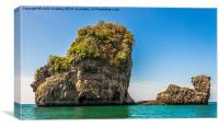 Phang Nga Bay, Canvas Print