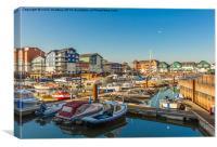 Exmouth Harbour, Canvas Print