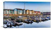 Exmouth Harbour , Canvas Print
