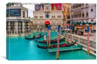 Venetian Hotel in Las Vegas, Canvas Print