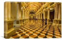 Pure Opulence - Venetian Casino, Canvas Print