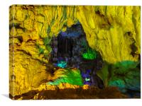 Ha Noi Cave, Canvas Print