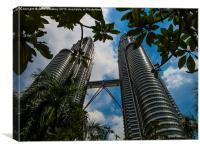 Petronas Towers - Kuala Lumpur , Canvas Print