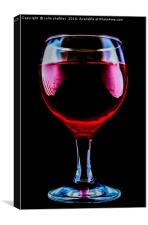 A Glass of Surreal, Canvas Print