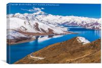 Yamdrok Lake - Tibet, Canvas Print