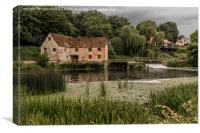 Sturminster Mill on the River Stour, Canvas Print