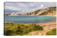 Worbarrow Bay in Dorset, Canvas Print