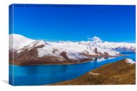 Yamdrok Lake - Tibet, Canvas Print